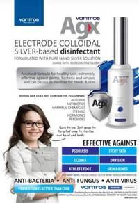 Electrode Collodial Silver based Disinfectant