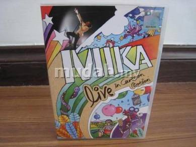 DVD Mika - Live In Cartoon Motion