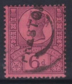 Great britain qv 1887-1900 sg208 used cat12 bj568