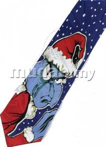 Dr Seues Christmas Cartoon Novelty Fancy Neck Tie