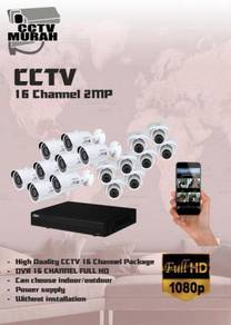 THE BEST CCTV 16 CHANNEL 2MP/FULL HD - a19c