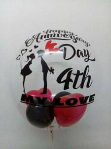 Personalized Balloon / Belon Cantik / Helium