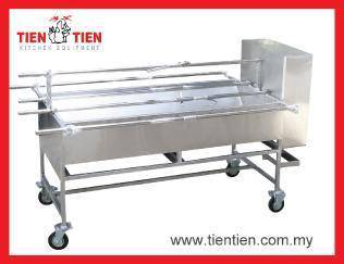 Mesin Ayam Golek S/Steel Automatik READY STOCK