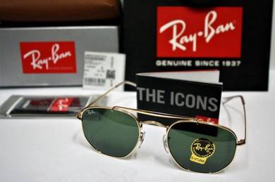 Authentic Ray Ban Marshal RB3648 Classic
