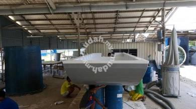 Feeding Boat ( Fiberglass )