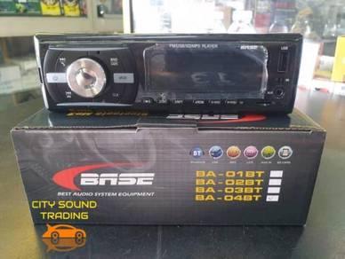 BASE MP3/SD/USB/FM Single Din car player