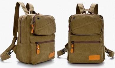 Khakis Stylish Dual-Use Casual Chest Bag Backpack