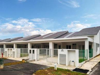 Cash back rm20k / New endlot 1sty terrace with extra land / Shah alam