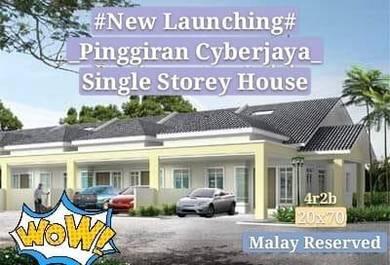 New Launching Cyberjaya Single Storey 20x70