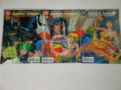 JUSTICE LEAGUE. Midsummers Nightmare. complete set