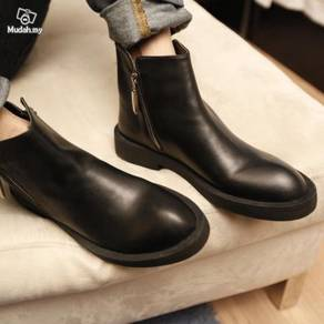 British Male boots cowhide Genuine Leather