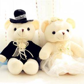 Teady Bear Couple Wedding