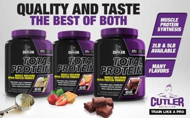 Cutler Total Protein Nutrition muscle sus protein