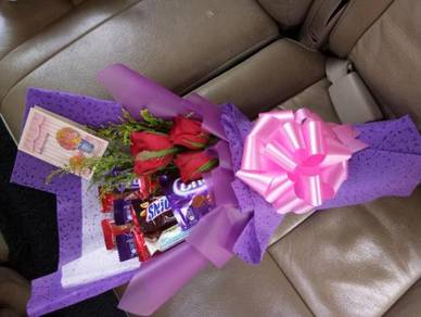 Bunga Coklat Murah / Mix Bouquet