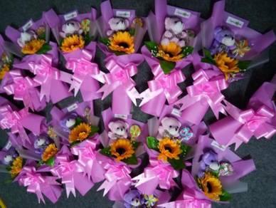 Bunga Coklat Terlajak Murah / Bouquet Bajet