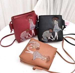 Ladies Shoulder Zip Bag(BLSE 28707)
