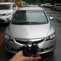 Honda Civic city jazz Remote control key Chip