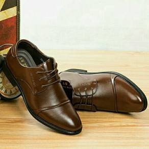 Leather Derby Shoes (MSXQ25463)