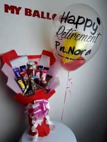 Bunga Coklat / Bunga Segar / Bouquet Murah
