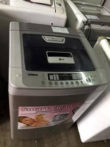 Basuh 8kg LG Washing Machine Automatic Recon Mesin