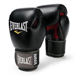 EVERLAST boxing glove BLACK mma muay thai NEW