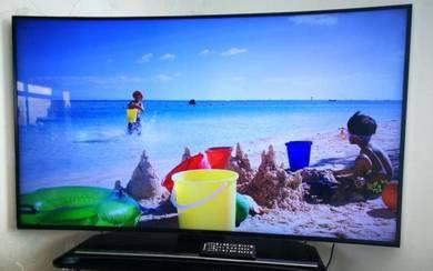 Samsung curve 4k smart tv 55 inch
