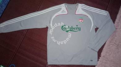 Adidas training sweatshirt liverpool 2008