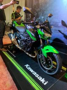 Kawasaki z250 (new version)