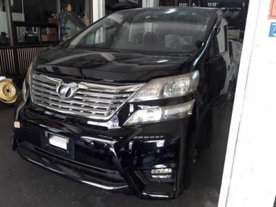 Toyota Vellfire Anh20 front cut complete
