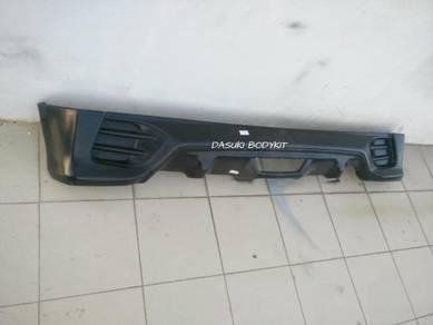 Rear Skirt Perodua Myvi Extreme