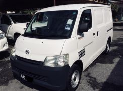 2013 daihatsu grandmax panel 1.6m / 1 own /tip top