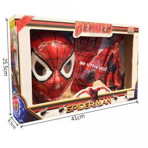 Spiderman 3 in 1 Gift Set Collection Mask Glove