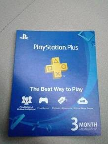 Ps plus 3 months membership