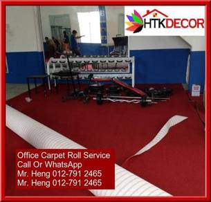 Office Carpet Roll with Expert Installation 45y