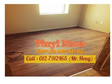 Natural Wood PVC Vinyl Floor - With Install 27HI