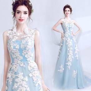 Blu wedding bridal prom party dress gown RB0377