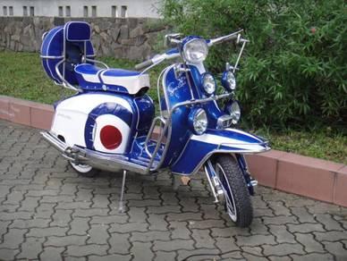 1963 italian lambretta lis special 150