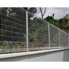 Glavanised Security Fence Seremban