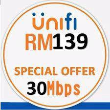 Hot wifi home unifi 30mbps