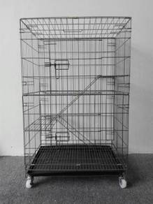 8022L Wrought Iron Cat Cage 23.5