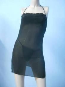 L392 Black Sexy Lingerie Sleepwear Babydoll