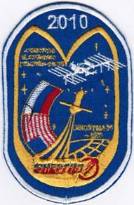 Soyuz TMA-18-MKC Cliff Russia Human Space Patch