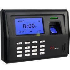 K Led 500 fingerprint time recorder attendance 9