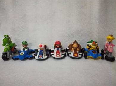 Mcd Mario and Friends Mariokart 8 Full Set