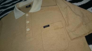 Vintage Adidas Club Collar T shirt size M