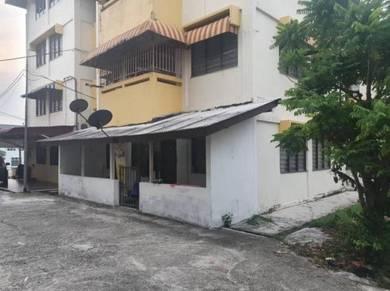 Rumah flat ground floor tmn Perling