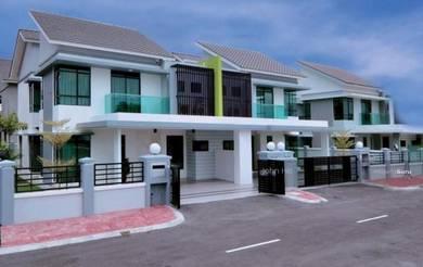 Full Loan , New 2 Storey Terrace House 22x70