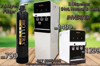 Penapis Air Water Filter Dispenser TABLETOP D4