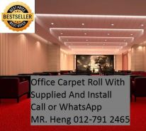 Office Carpet Tile with Installation 5MKL
