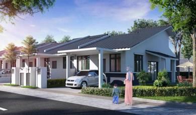 New 1 sty terrace shah alam / Rm1000 dapat rumah